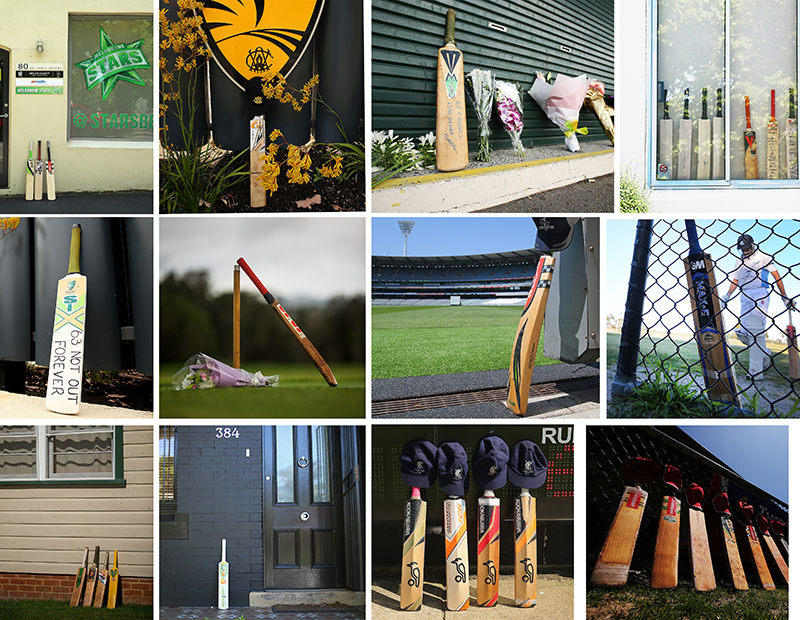 'Put Out Your Bats' Social Media Campaign For Phillip Hughes