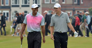 Tiger Woods and Jordan Spieth