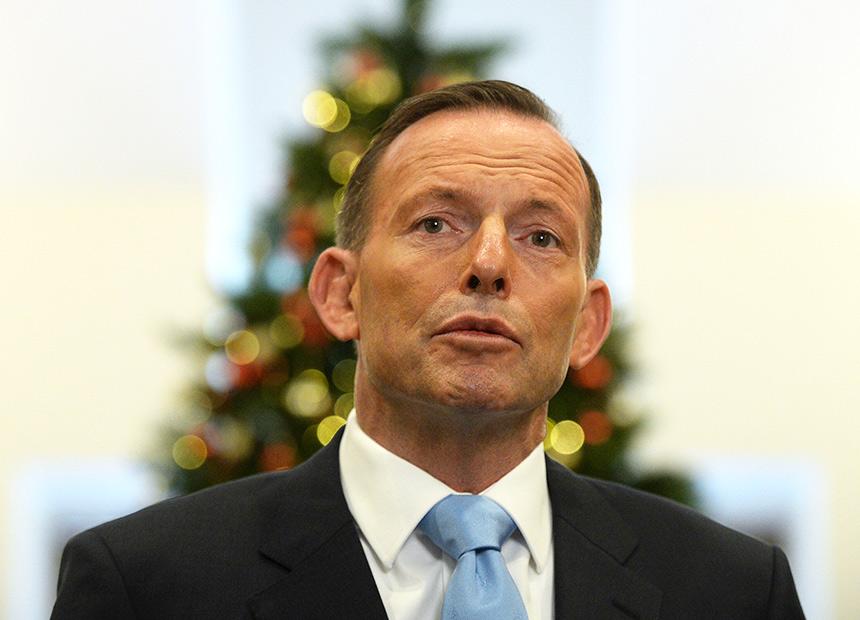 Tony Abbott Australian Prime Minister