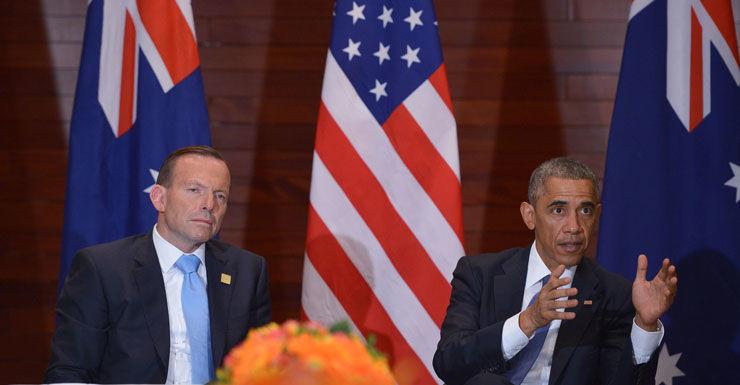 Tony Abbott and Barack Obama