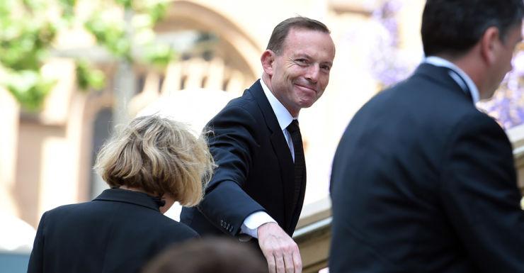 Tony Abbott Gough Whitlam memorial