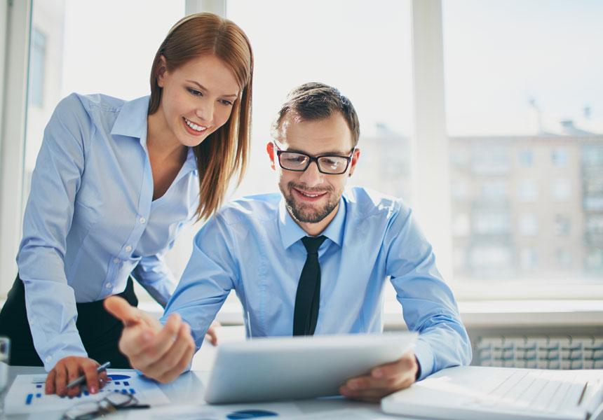 work business partner meeting