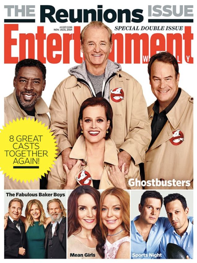Cast reunions Entertainment Weekly 2014