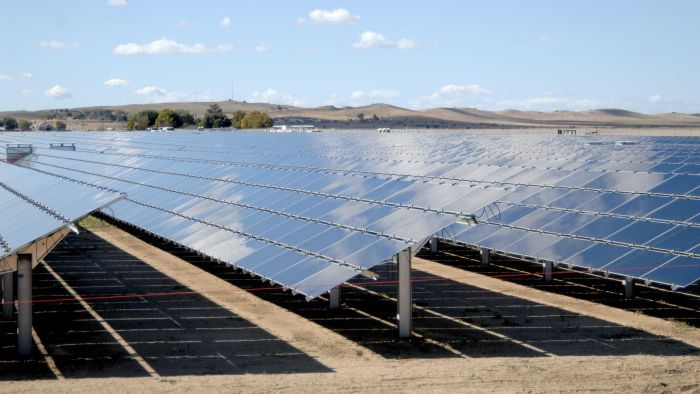 Topaz solar farm in California is the world's largest solar power plant.