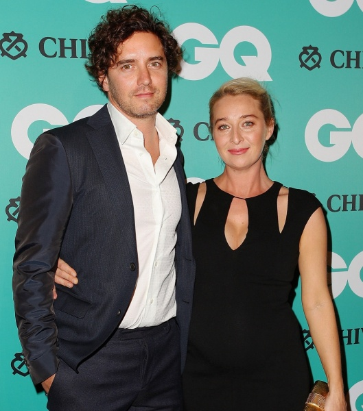 Asher Keddie and Vincent Fantauzzo at GQ Men of the Year Awards 2014
