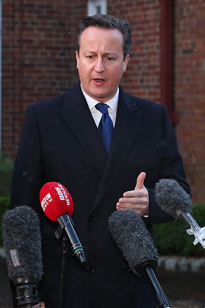 'It's an extremely worrying situation,' says British PM David Cameron.