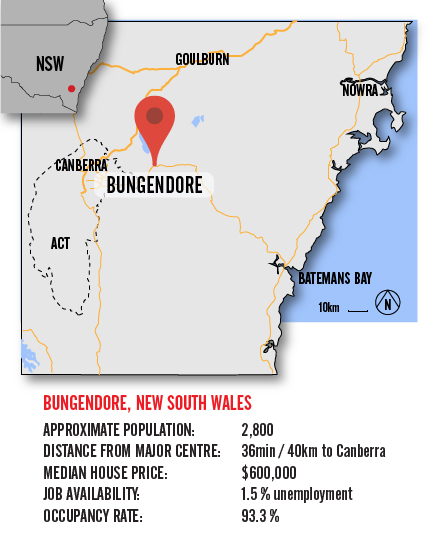 Map Bungendore BIG-01