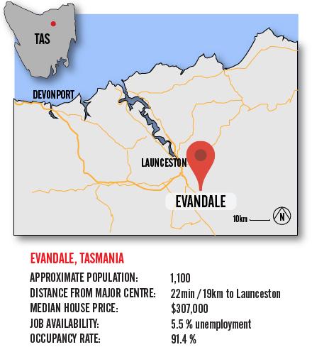 Map Evandale BIG-01