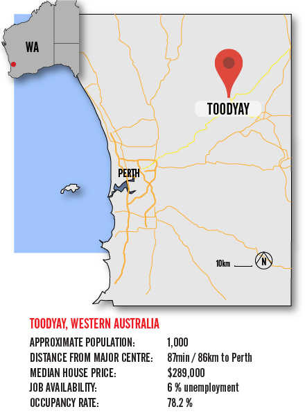 Map Toodyay BIG-01