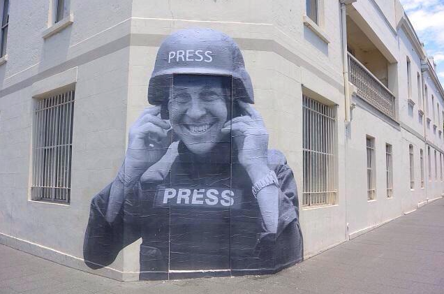 Peter Greste tribute