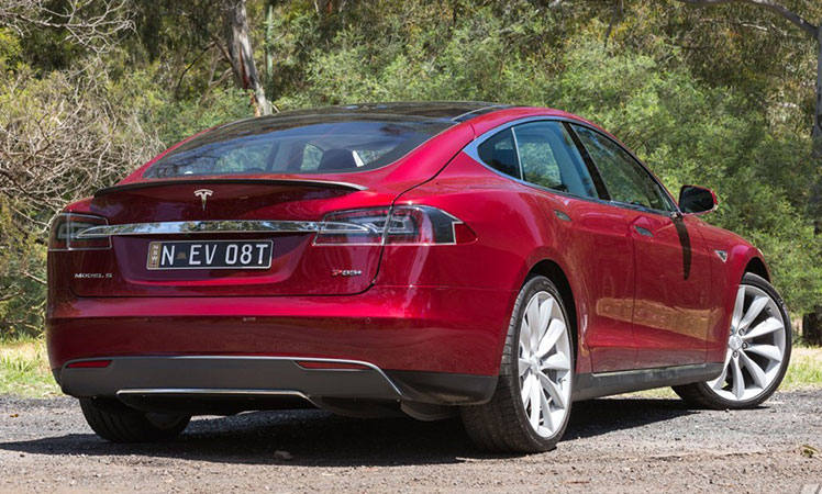 Tesla-rear