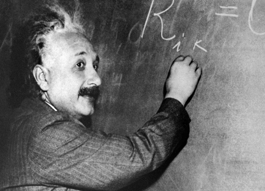 Albert Einstein. Getty
