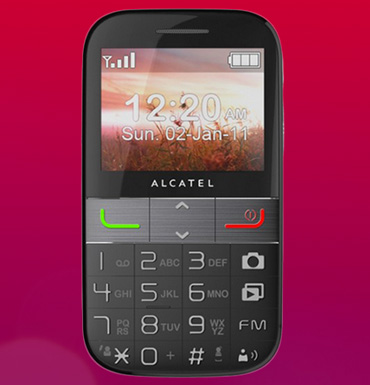 Off the dial: embracin... Alcatel One Touch Flip Phone