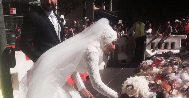 Muslim bride Sydney siege