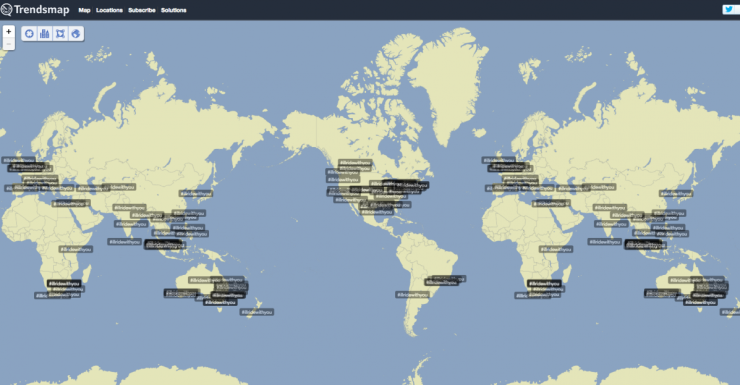 #illridewithyou was trending around the world.