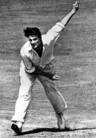 Keith Miller helped revive the practice of aggressive fast bowling after the war.