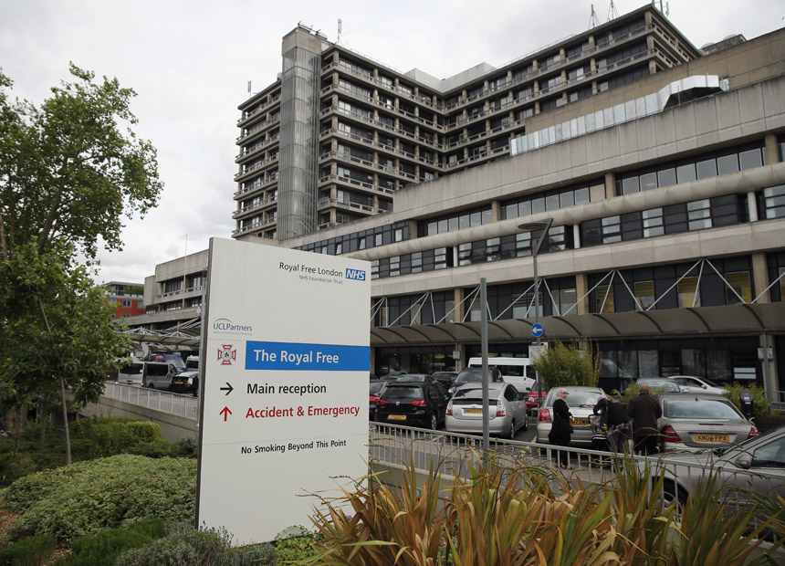 Royal Free Hospital London ebola