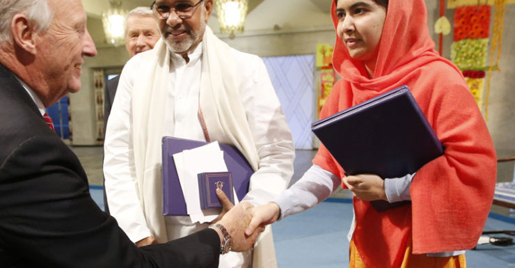 Malala Yousafzai awarded 2014 Nobel Peace Prize