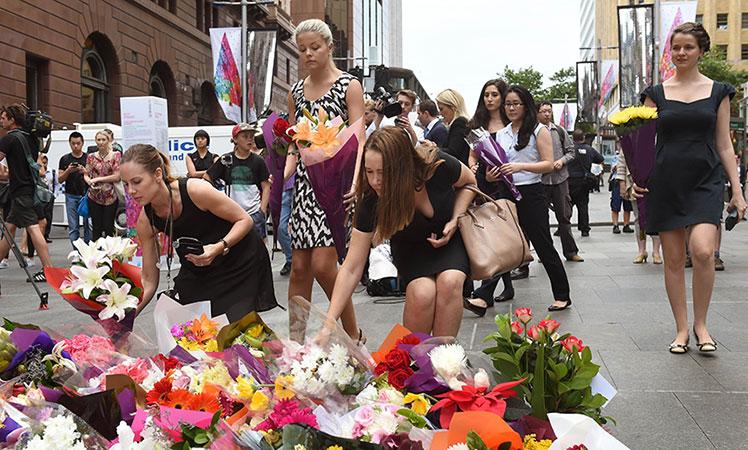 Sydney in mourning.