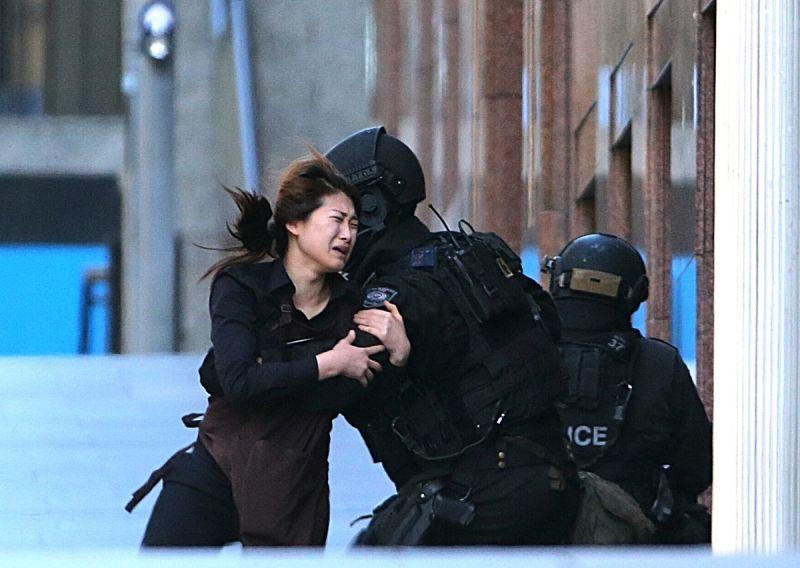 martin place sydney siege hostage escape