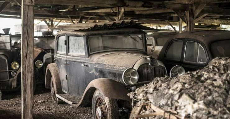 Incredible Classic Car Collection Found In Old Shed