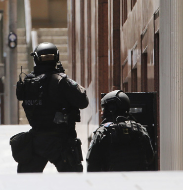 Police Martin Place