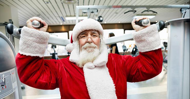 Santa gym