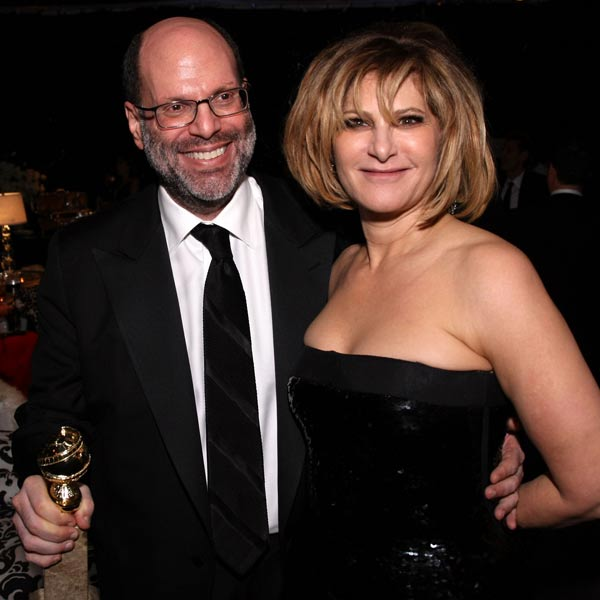 Scott Rudin and Amy Pascal. Photo: Getty