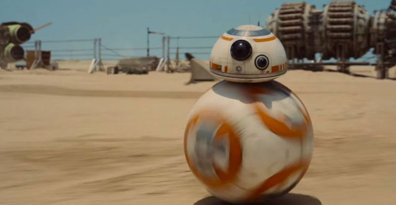 Star Wars cute robot