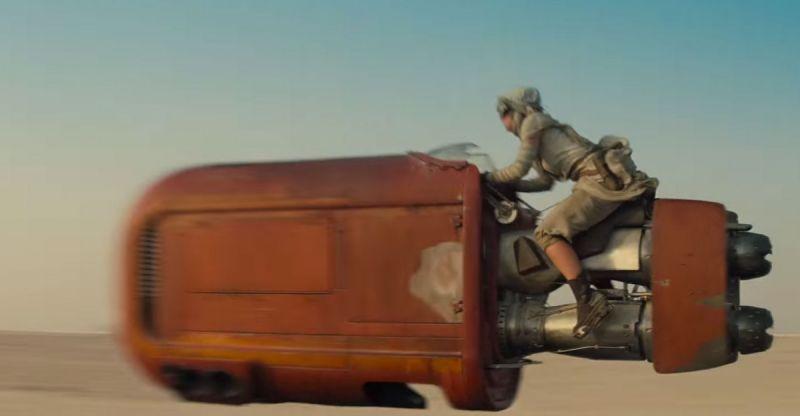 Star Wars motorbike