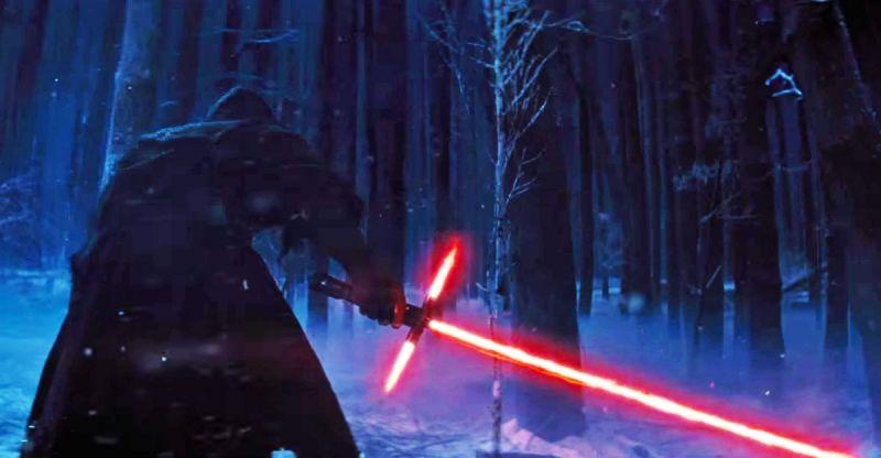 Star Wars triple lightsaber