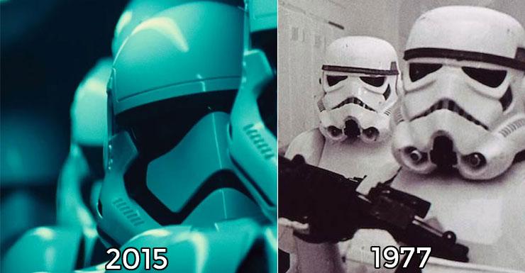 New Stormtrooper helmets