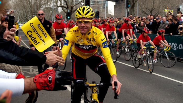 Cadel Evans became a household name in Australia after winning the Tour de France in 2011.