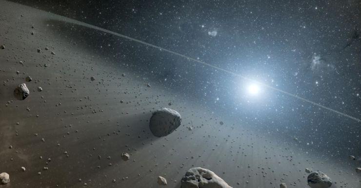 NASA asteroid space