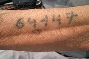 Auschwitz-Tattoo