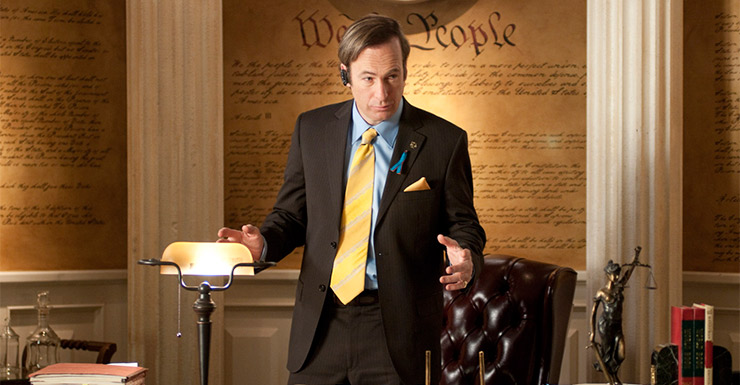 Bob Odenkirk as Saul in Better Call Saul. Photo: Supplied