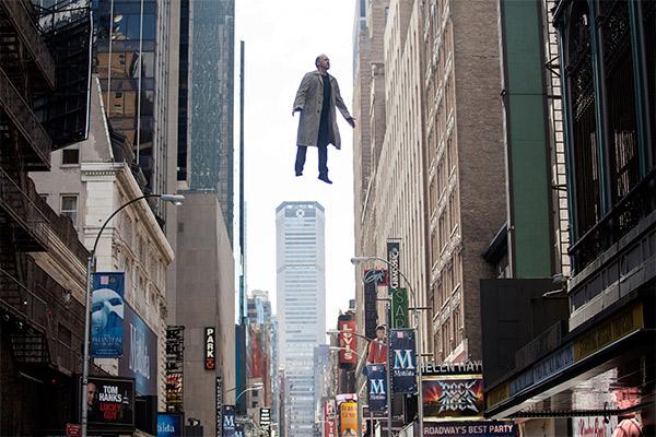 Keaton soars in Birdman. Photo: AAP