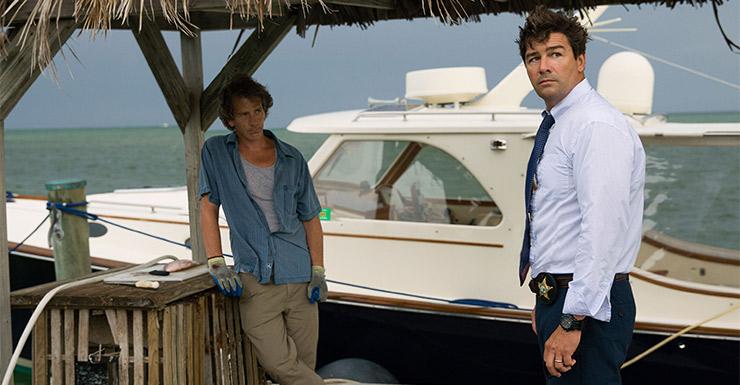 Ben Mendelsohn and Kyle Chandler in Bloodline. Photo: Netflix