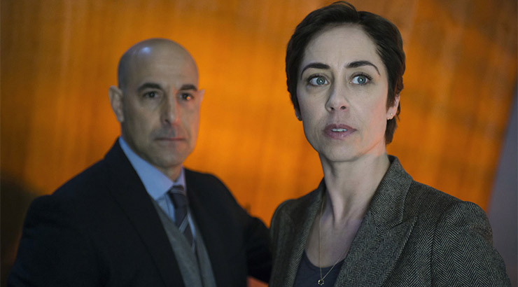 Stanley Tucci and Sphie Gabor star in Fortitude. Photo: Supplied