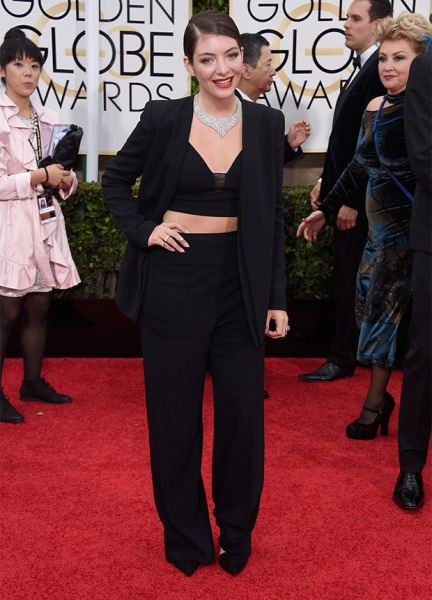 Lorde Golden Globes 2015