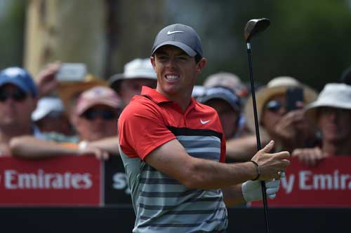 Rory McIlroy pulled big crowds to the Australian Open. Photo: Getty
