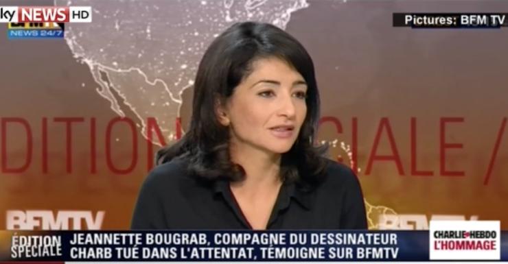 Charb partner Jeannette Bougrab Paris shooting