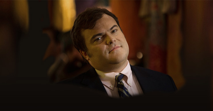 Jack Black in The Brink, HBOs new comedy. Photo: HBO