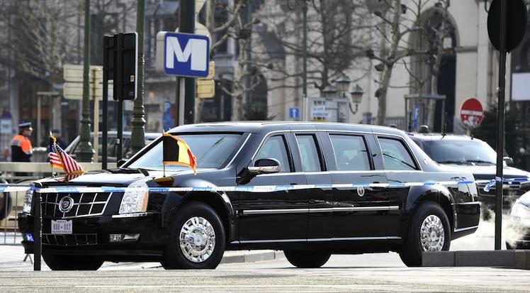 Obama Car: Sweet Ride: Inside Tony Abbott's Bulletproof Car