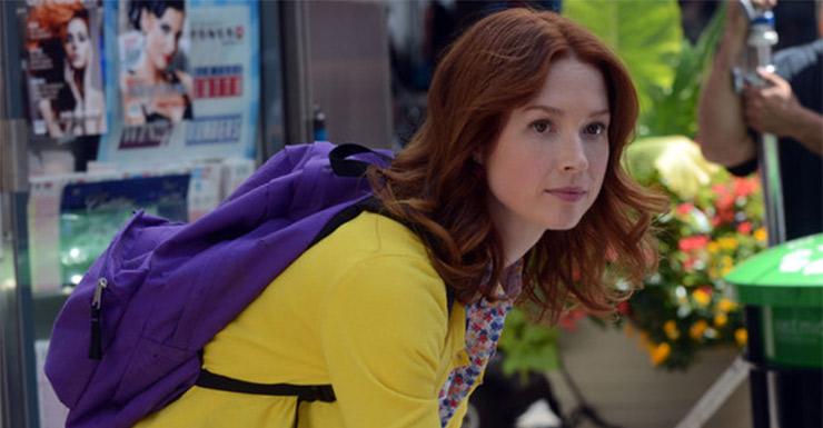 Ellie Kemper in Tina Fey's new series The Unbreakable Kelly Schmidt.