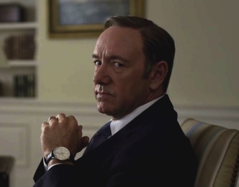Kevin Spacey's hit series 'House of Cards' is available in 4K.