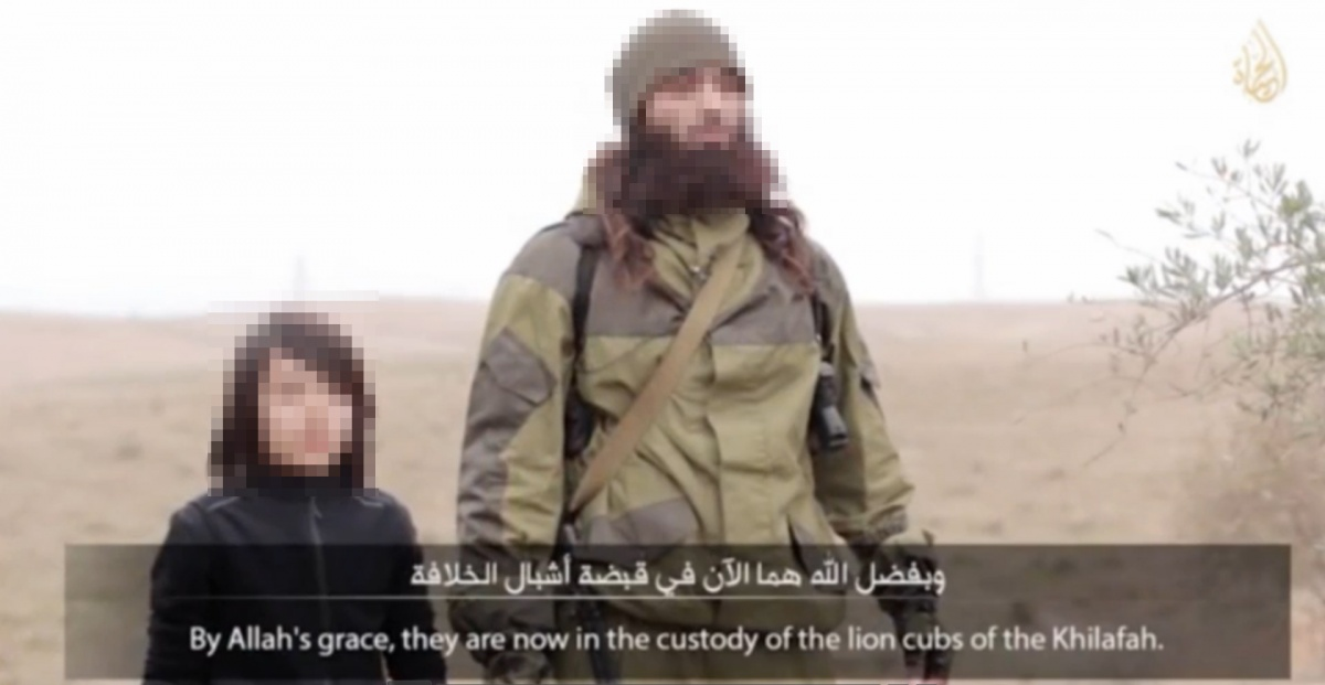 Islamic State child executioner