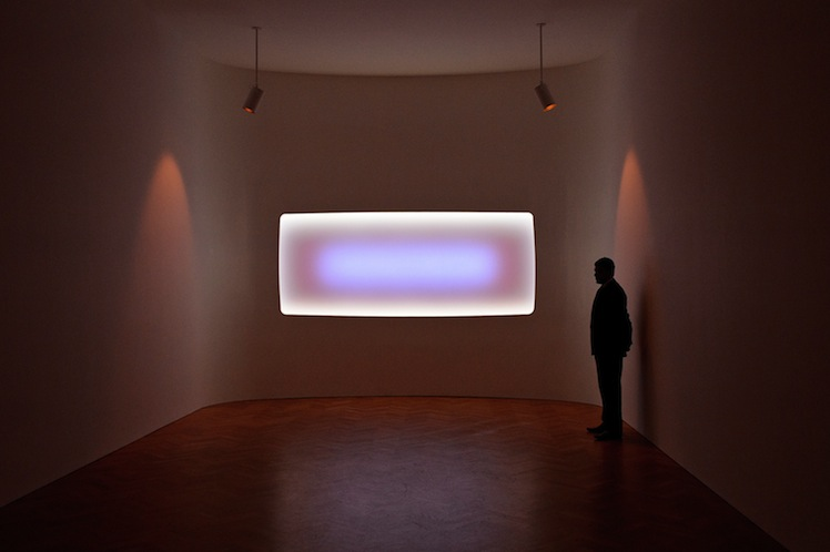 A James Turrell work. Photo: Getty