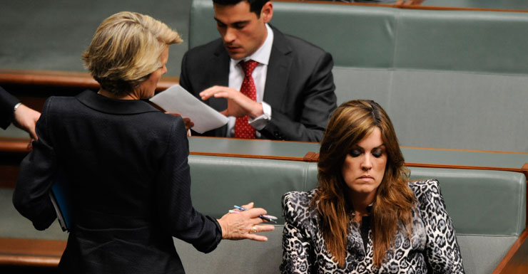 Julie Bishop and Peta Credlin