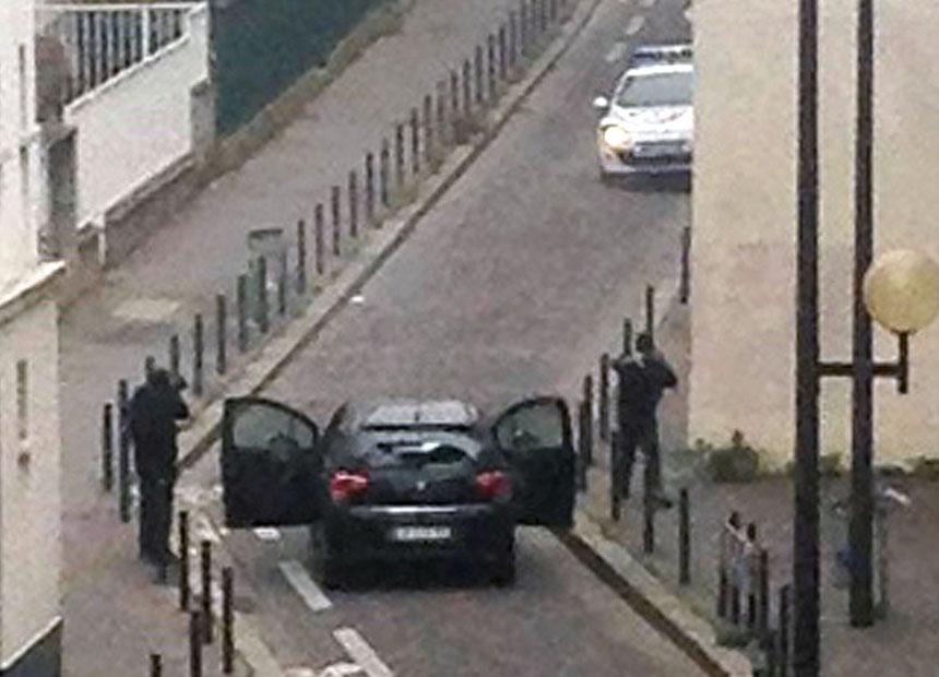 Paris shooting gunmen